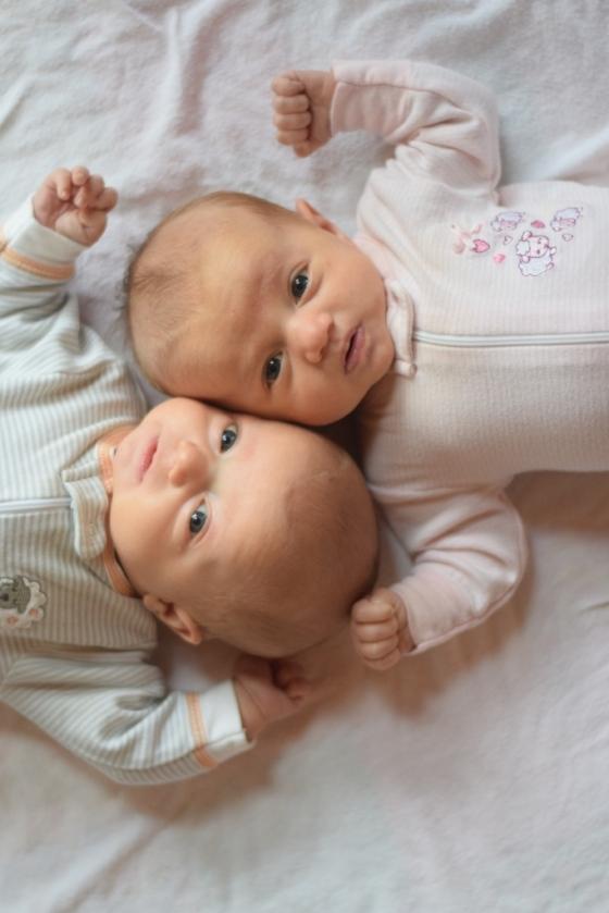 Twins 2 months